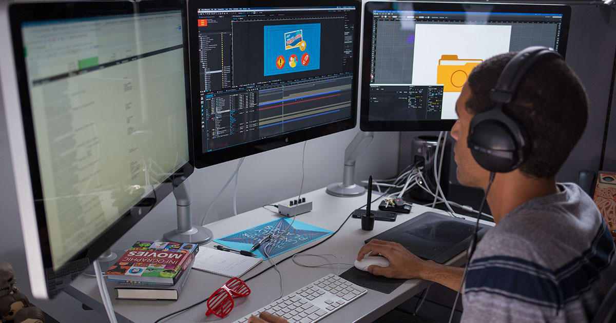 آموزش پروژه محور ساخت موشن گرافیک