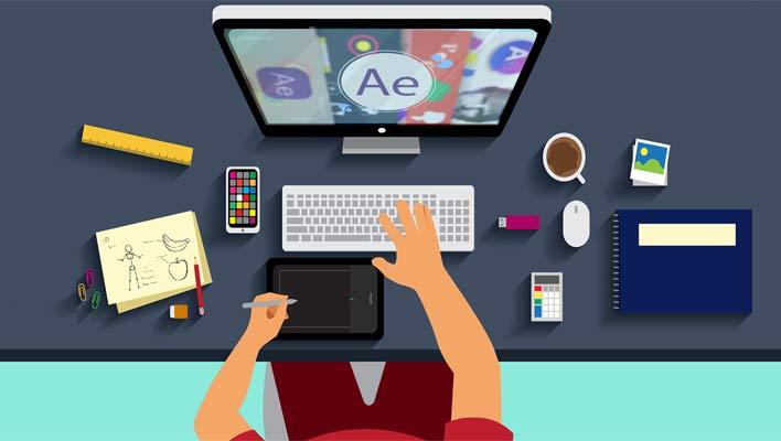افترافکت، بهترین نرم افزار تولید موشن گرافیک | آموزش تک